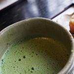 喫茶みの - ドリンク写真:お抹茶(700円)