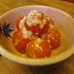 糀 やまき - ミニトマト塩麹和え