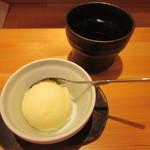 神戸COCCO - 柚子シャーベット付き