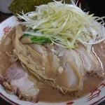 麺屋 庄太 - 2015年10月 らぁ麺+チャーシュー+白髪ネギ 700+200+200円