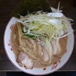 44907555 - 2015年10月 らぁ麺+チャーシュー+白髪ネギ 700+200+200円