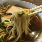 洋食 ひらおか  - 中華そば、シャクッとした細麺