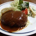 キッチンゑみ - ハンバーグステーキ