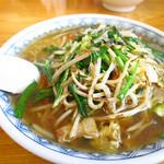 赤道食堂 - 肉ニララーメン750円