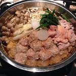 味乃華 - 大山鶏つみれコラーゲン鍋