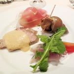 SAKASE 2010 - コース:前菜盛り合わせ
