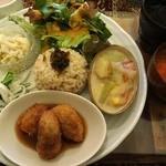 ノラネコ キッチン - 本日のごはんプレートです。
