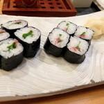 幸寿司 - 梅シソ巻き