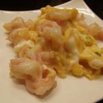 44918063 - エビと卵の炒め600円
