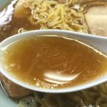 日本橋 札幌や - ニンニクの風味が効いた美味しいスープでした(^^)