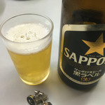 日本橋 札幌や - 瓶ビール 550円