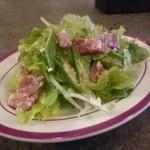ワイン食堂イナセヤ マーレ - Bセットのサラダ