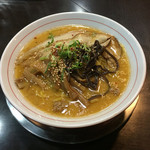 大豚白 - ●2015 #276 @札幌豚骨味噌ラーメン ¥750