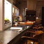 玄挽蕎麦 NAGARA - カウンター席