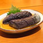 玄挽蕎麦 NAGARA - 揚げ茄子の煮浸し