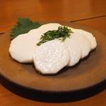 玄挽蕎麦 NAGARA - 長芋の浅漬け