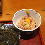玄挽蕎麦 NAGARA - ながら納豆 (ばくだん納豆)