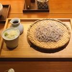玄挽蕎麦 NAGARA - ざる蕎麦