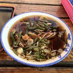 漁港ストア - 山菜そば¥320
