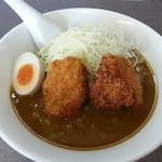 麺麺 - カレーラーメン(鶏のカツ) 842円