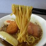 麺麺 - カレーラーメン(鶏のカツ)