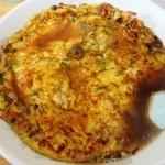 モンシターハンテン - 料理写真:15.11.28天津麺780円 萬来軒と違いカニは混ざっている