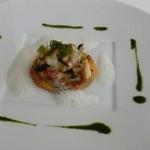 アラン シャペル - 白身魚のラタトゥイユ