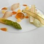 アラン シャペル - 鯛の燻製ジュレソース