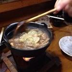 塩田屋 - もつ煮