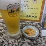 今池呑助飯店 - 2015年10月 生ビール(中)500円