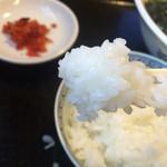 花園 - 料理写真:ライス  小リフト〜(*^◯^*)❤️