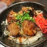函館麺や 一文字 - チャーシュー丼