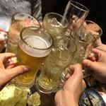宵の空 - 今日は渋谷で〜9時〜♫パイ(  ຶ▮  ຶ)ノ□  グリオ、おめっこ、亀、各々の夫婦の中に独身1人……(;´д`) 寂しいパイ(  ຶ▮  ຶ)ノ□