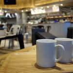 猿Cafe - カプチーノ