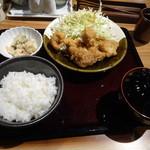 44938518 - 鶏の唐揚げ定食