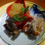 Haruka - 前菜三種盛り合わせ