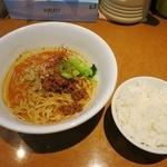 功夫担担 - ・「汁なし坦々麺(\840)」+「無料ご飯」