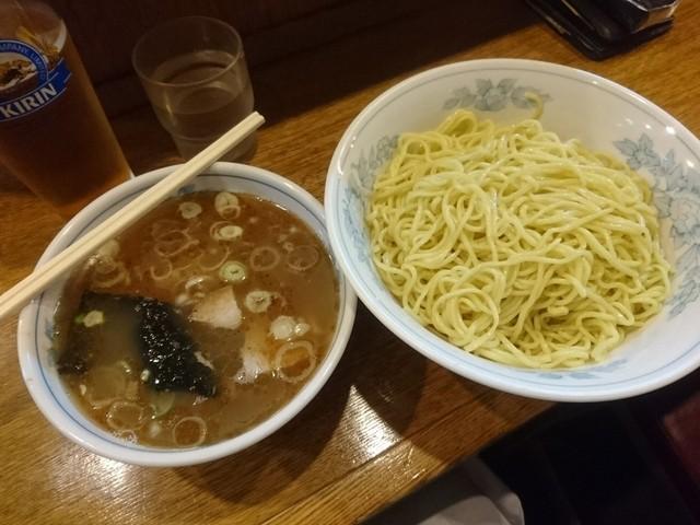 丸長 - つけ麺大盛り(¥850)
