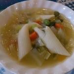 44942112 - ランチセットのスープ