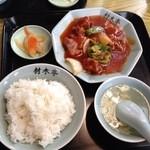 材木亭 - 料理写真:酢豚定食