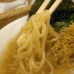 めん処羽鳥 - 麺は、多加水方向~きらり