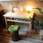 カフェウッドロード - 1人用テーブル席♪