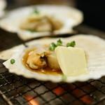 赤羽 トロ函 - 2015.11 ホタテバター貝焼き(クーポン)