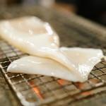 赤羽 トロ函 - 2015.11 イカの浜焼き(430円)