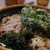 万葉そば - 料理写真:明日葉天そば430円『2015.11月再訪』