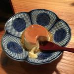 旬魚旬菜 仁 - お手製のプリン