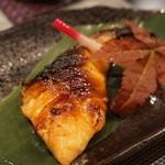 禅紫 - 15.11 サーモン味噌幽庵焼き(600円)