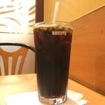 ドトールコーヒーショップ - アイスコーヒーM 270円