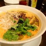 月季花 - 青山椒の担々麺