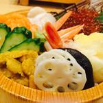 沼津魚がし鮨 - 北海丼
